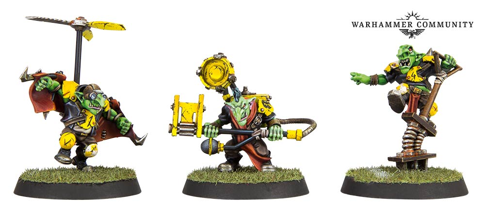 BloodBowl Goblin Contraptions