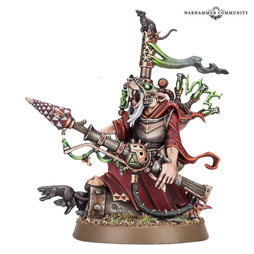 Carrion Empire Warlock Bombardier