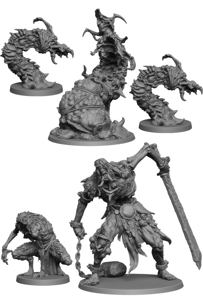 Dark Rituals The Cursed Fjord Miniatures 2