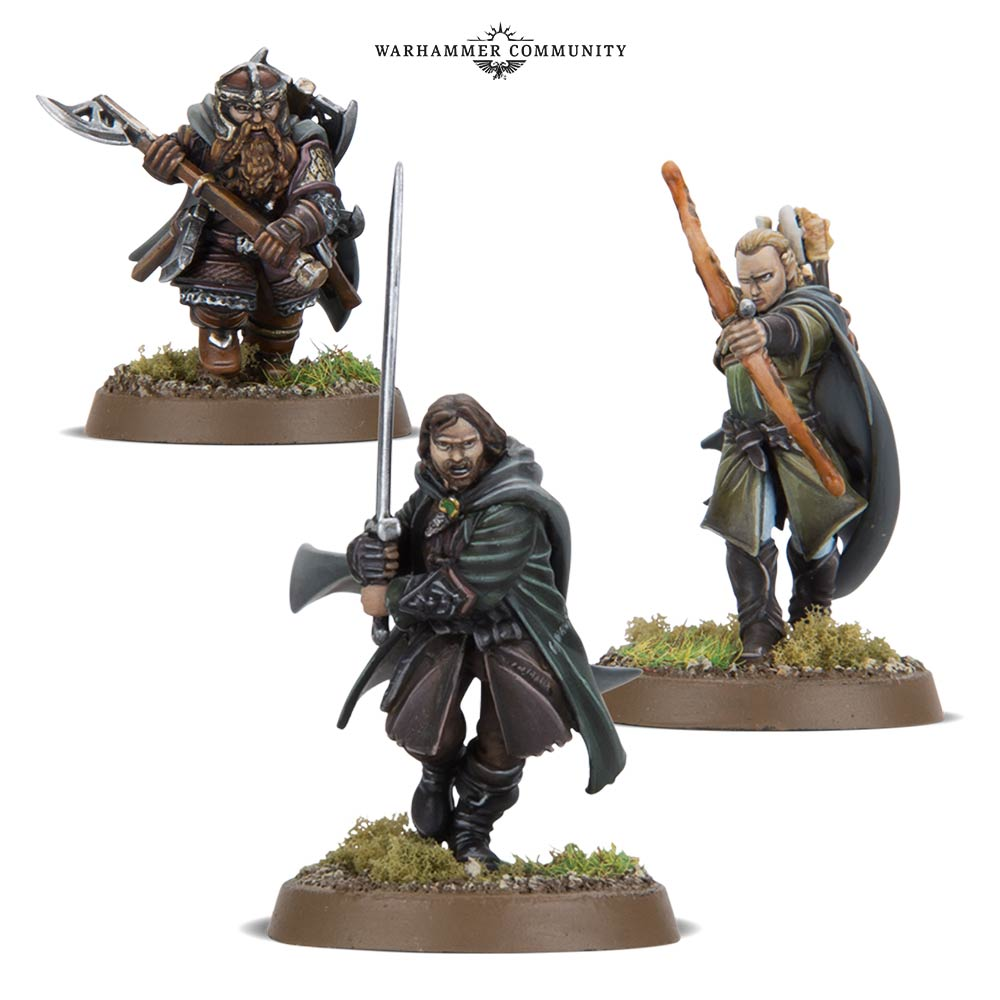 LOTR Three Hunters