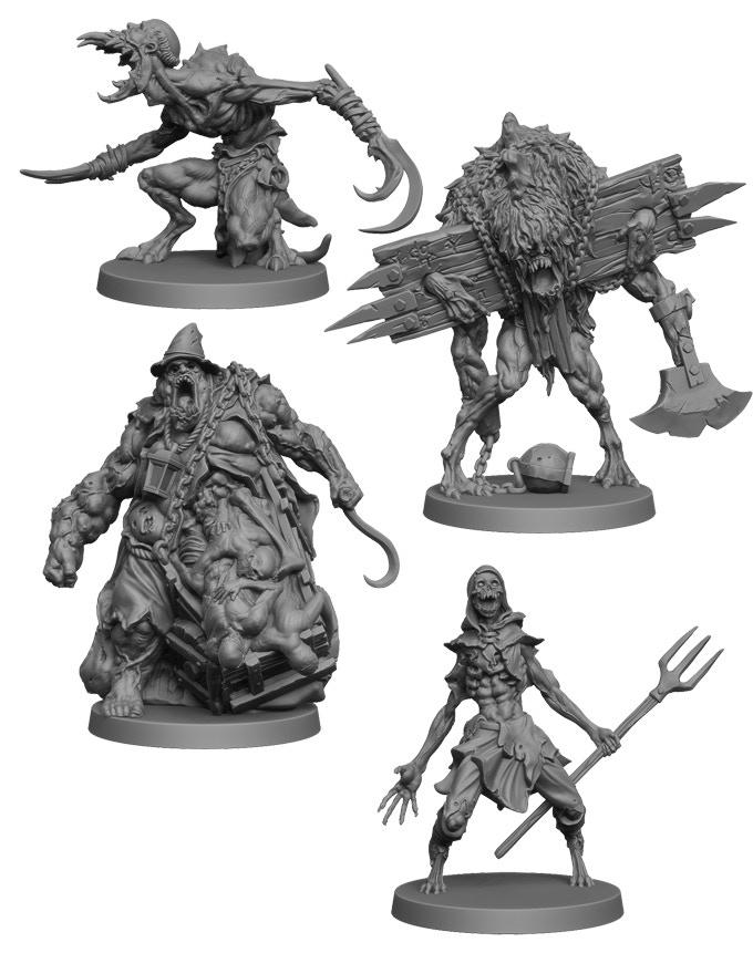 Dark Rituals - Minions Miniatures
