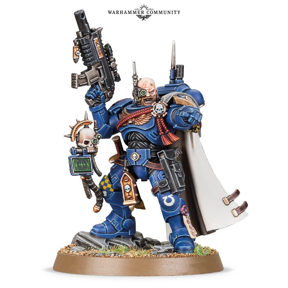 Phobos Armour Primaris Captain