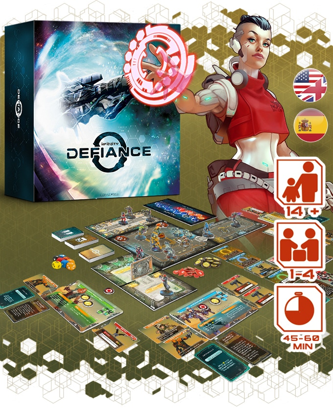 Infinity Defiance Contents