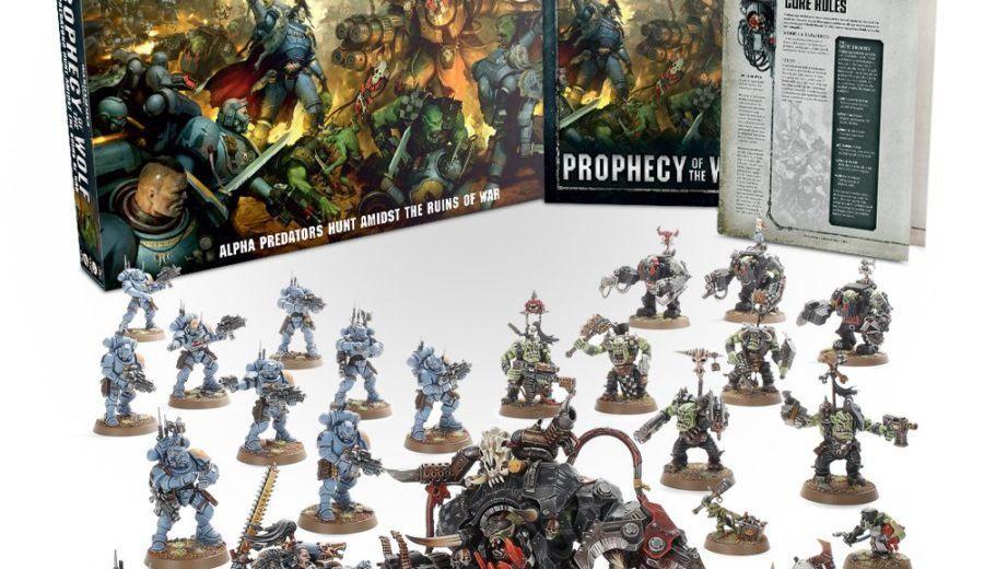 Prophecy of the Wolf Starter Set