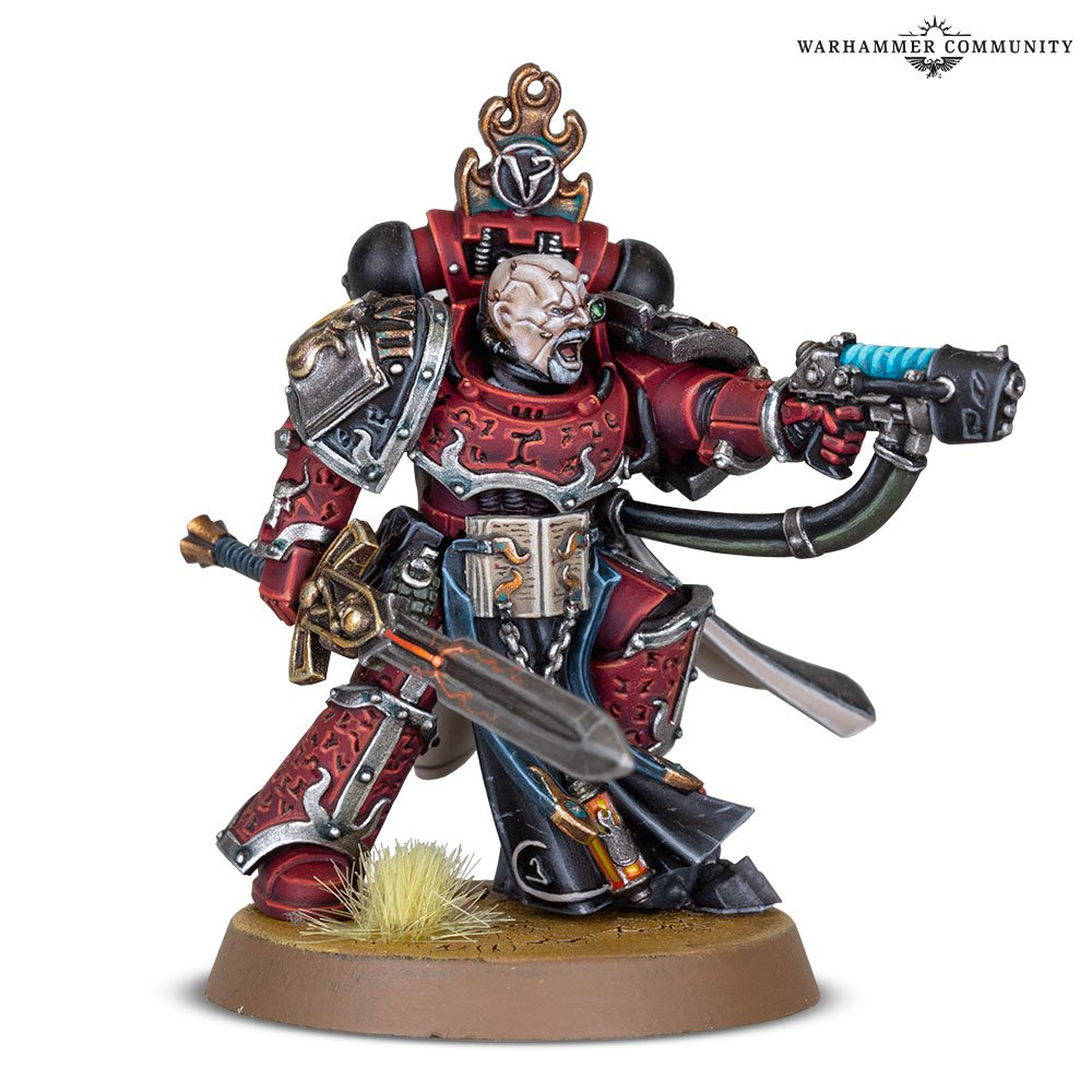 Wordbearer Marine Horus Heresy
