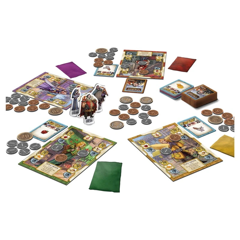 Sheriff of Nottingham 2nd Edtion contens