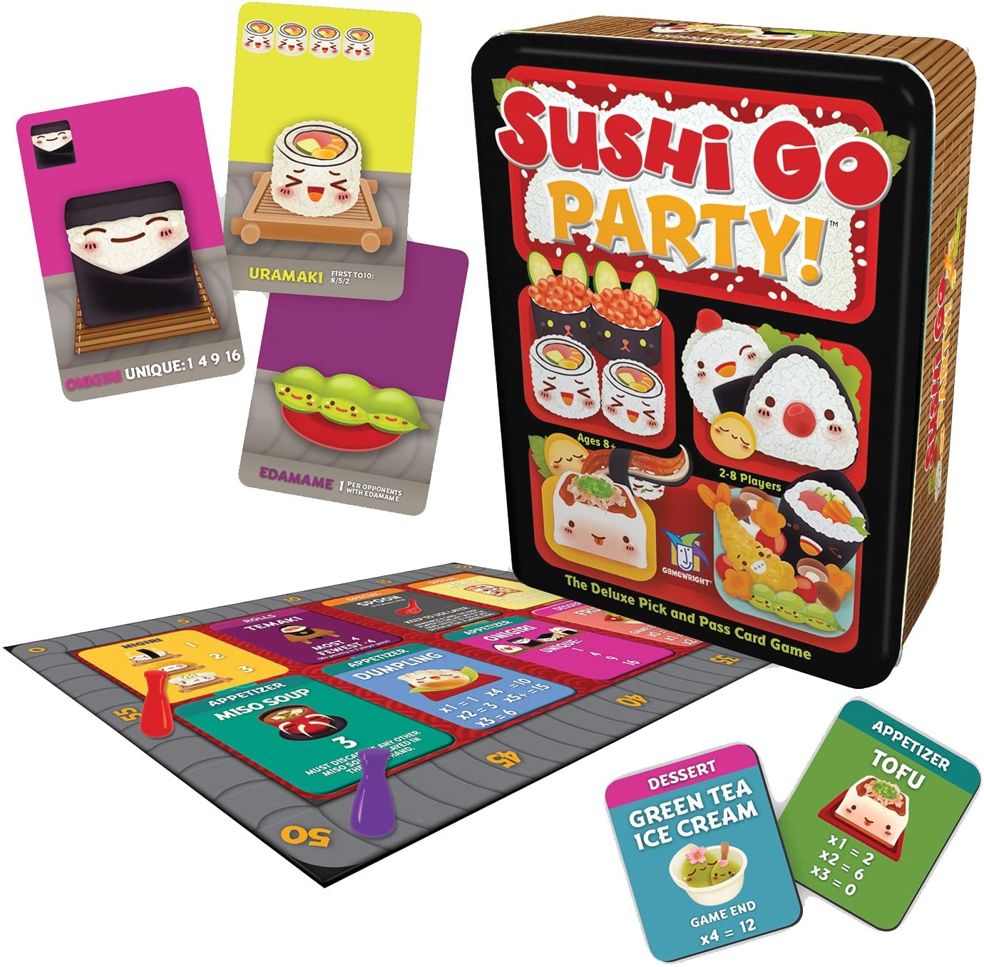 sushi go party contents