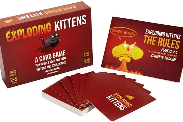 Exploding kittens contents