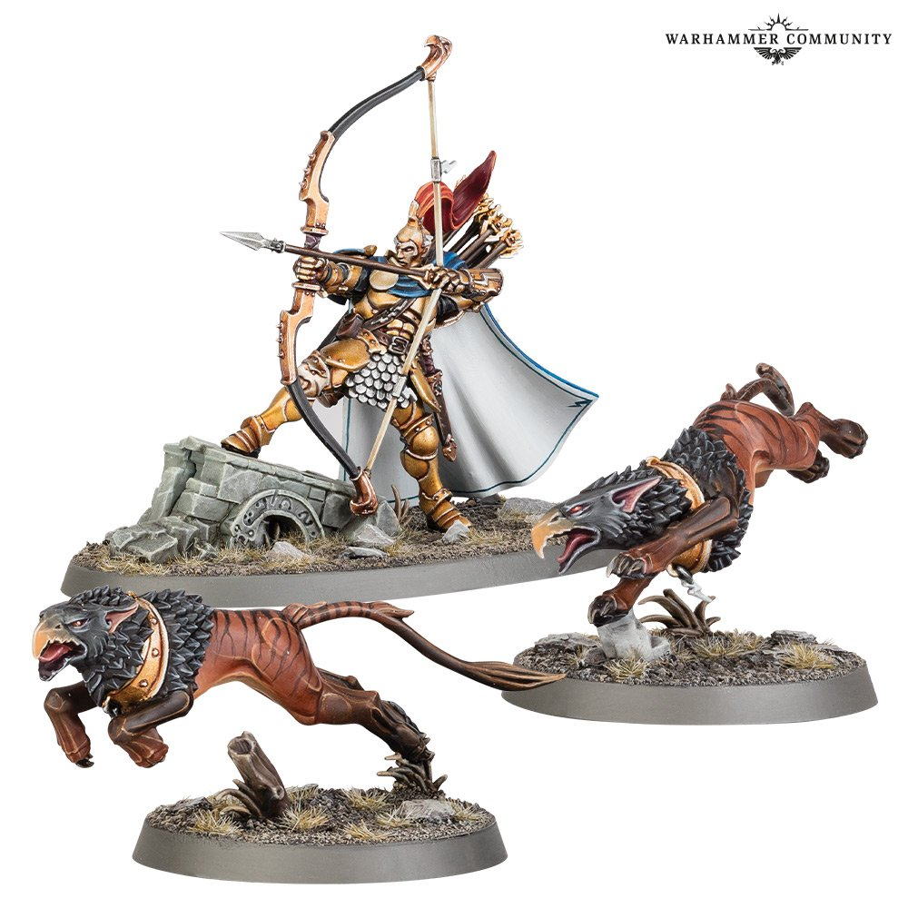 Knight-Judicator with Gryph-hounds