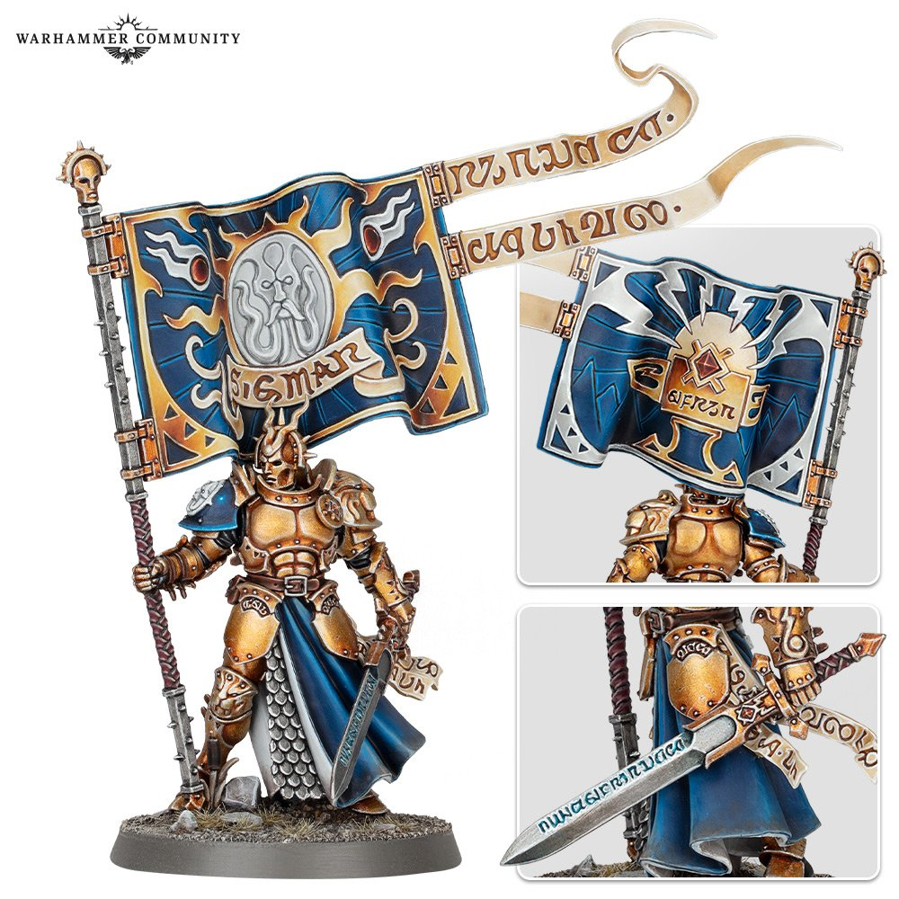 Knight-Vexillor with Banner of Apotheosis