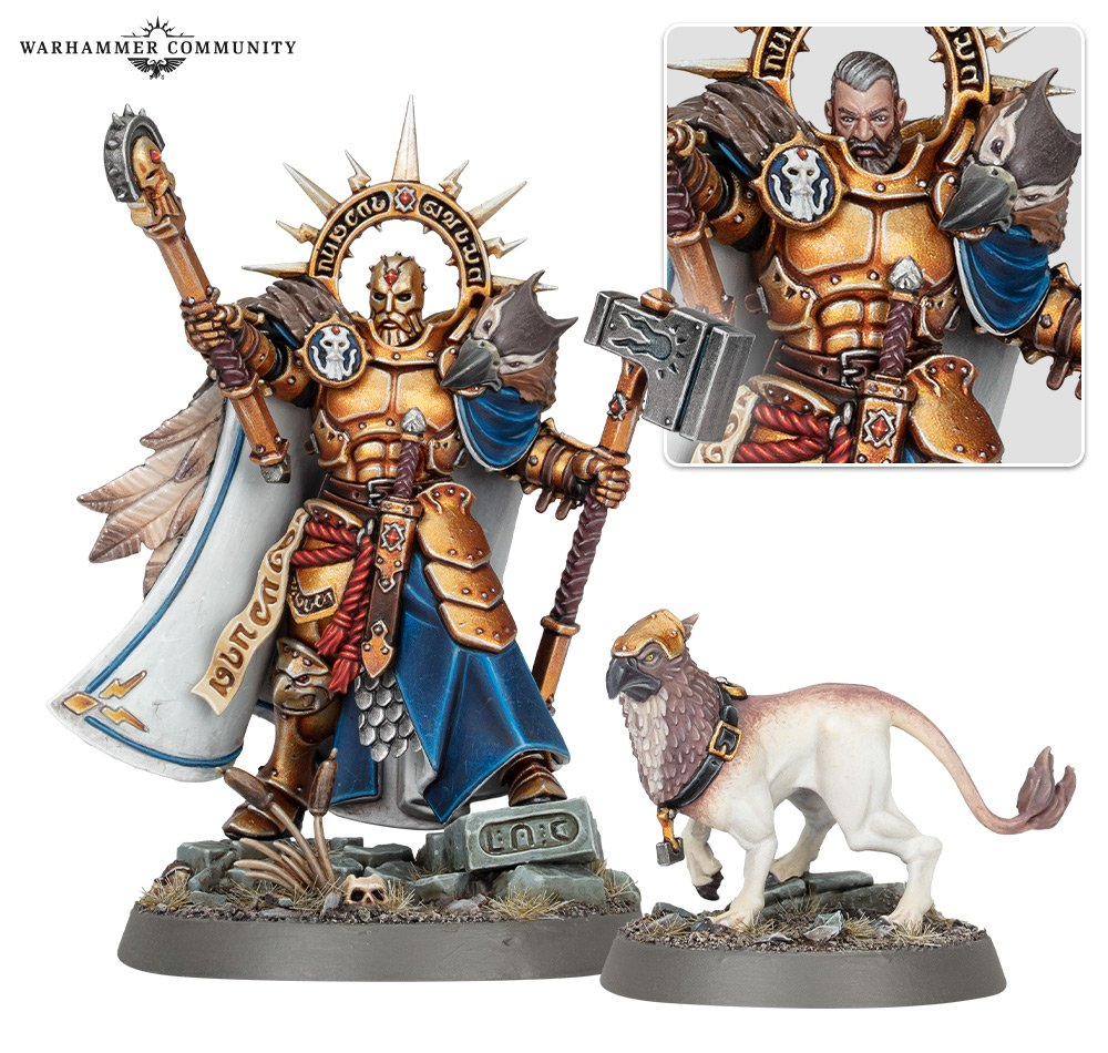 Lord-Imperatant with Gryph-hound