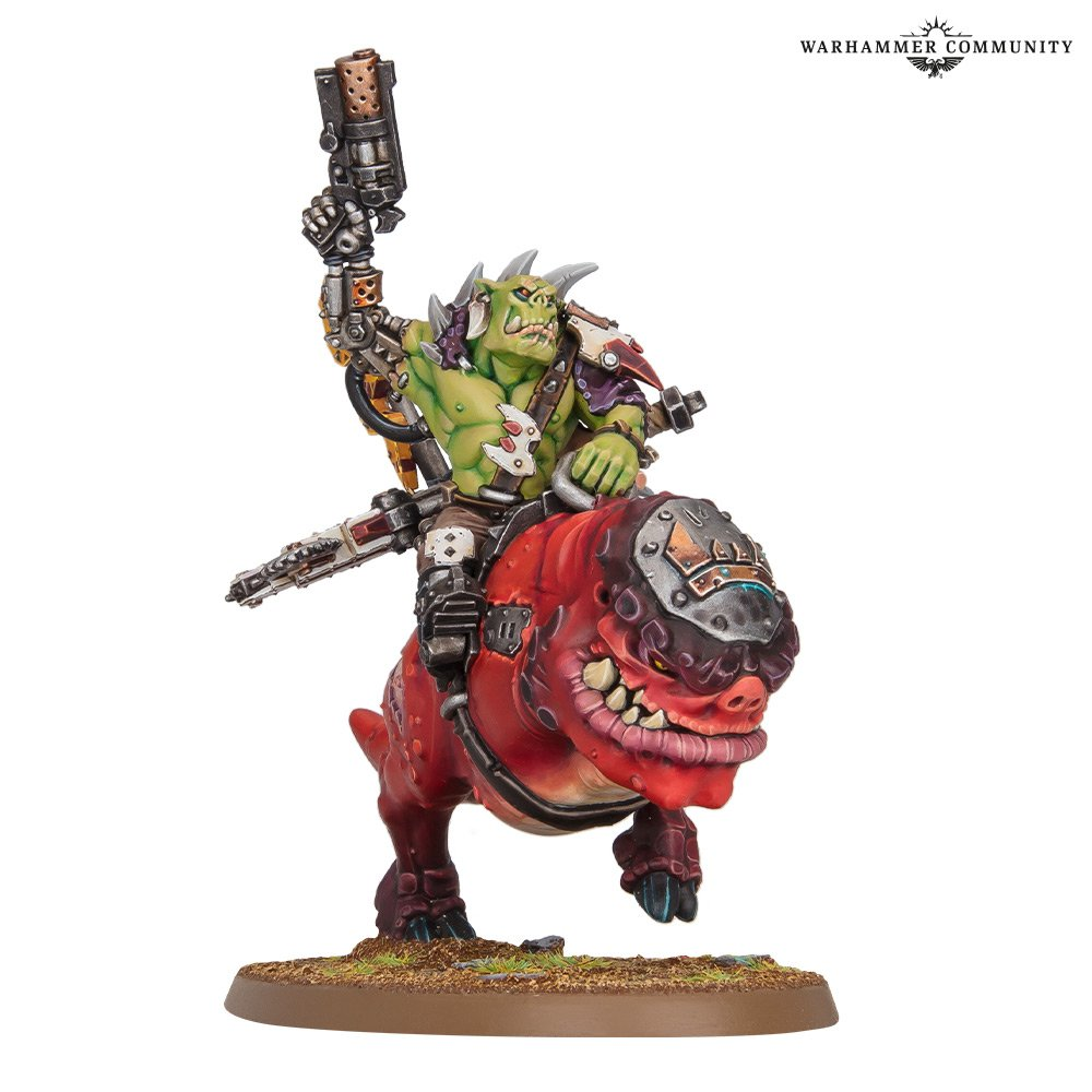 ork on smasha squig
