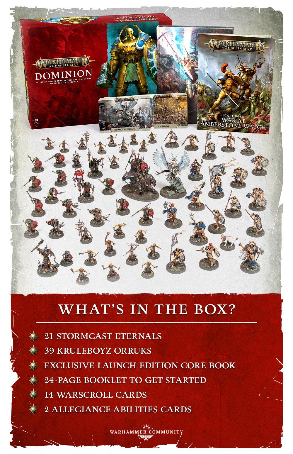 warahmmer AOS dominion box set